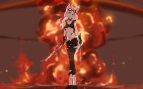 furry, Anthro, explosion