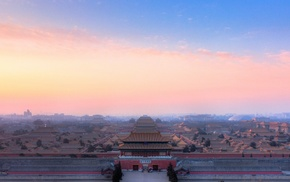 World Heritage Site, photography, Forbidden City, Beijing, landscape, China