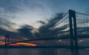bridge, urban