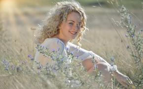 model, girl outdoors, girl