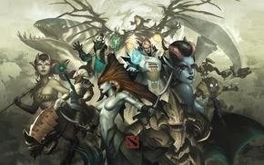 Chen, Tidehunter, Rubik, Valve, Invoker, Enchantress
