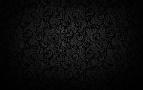 pattern, black