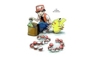 Pok Balls, Red Pokemon, Pokmon, Pikachu