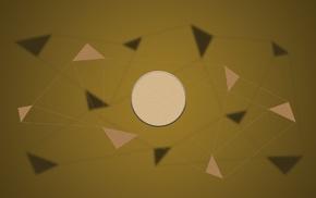 sphere, vector art, poly, circle