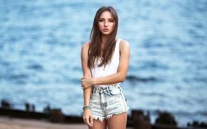 jeans, girl, model