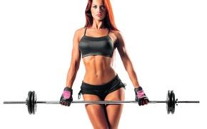 fitness model, sports, girl