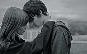 sadness, men, monochrome, girl