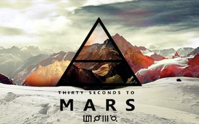 30 seconds to mars, Jared Leto, Thirty Seconds To Mars, Mars, triangle