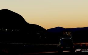 sunset, Forza, Volkswagen, Forza Horizon, Forza Motorsport, night