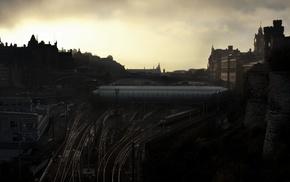 photography, city, bridge, urban, building, architecture