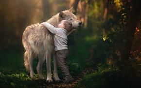 happy, photography, animals, children