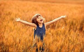 happy, photography, children