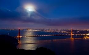Golden Gate Bridge, nature, landscape, bridge
