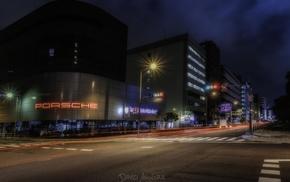 building, city, Porsche, Japan