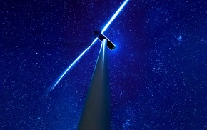 wind turbine, David Aguilera, stars