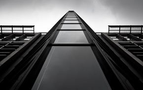 architecture, photography, building, monochrome