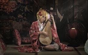 girl, Asian, music