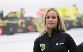Carmen Jord, PDVSA, Formula 1, girl, Driver, blonde