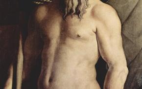 classic art, gods, Poseidon, Angelo Bronzino, Neptune, Greek mythology