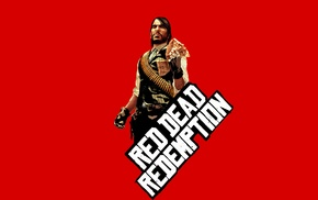 simple, simple background, Red Dead Redemption, John Marston