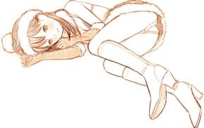 Masakazu Katsura, original characters, Christmas, anime girls, ecchi, manga