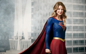 smiling, superhero, TV, DC Comics, girl, Supergirl
