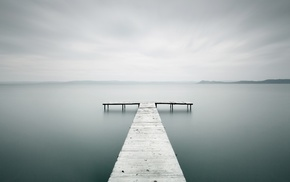 wood, nature, sticks, pier, bright, photography