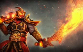 Dota 2, armor, Ember Spirit, hero, Defense of the ancient, sword