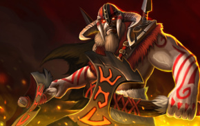 hero, Dota 2, tattoo, axes, Dota, Defense of the ancient