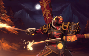 Dota, Ember Spirit, Dota 2, sword, hero, Defense of the ancient