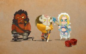Axe, hero, Dota, Rylai, Dota 2, Ninja