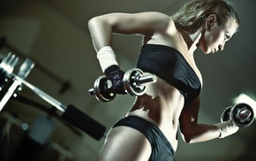 model, fitness model, girl, sports, weightlifting