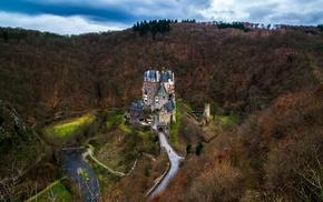 Eltz Castle, landscape, castle