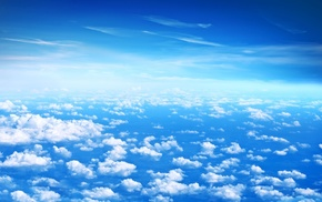 clouds, blue, photography, sky