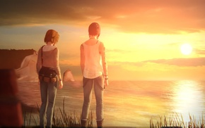 Life Is Strange, digital art, Max Caulfield, Chloe Price