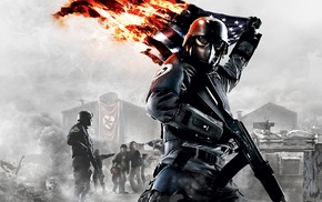 flag, military, Homefront The Revolution, war, USA