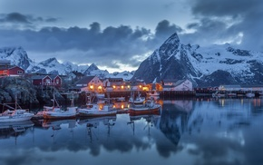 Norway, mountains, landscape