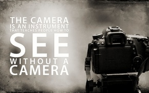 black, camera, quote