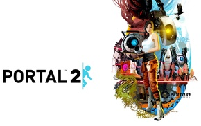 Portal 2, Chell, video games, Portal game