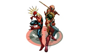 Spider, Man, Deadpool