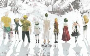 Kiryuu Moeka, Makise Kurisu, Tennouji Nae, Tennouji Yuugo, SteinsGate, Okabe Rintarou