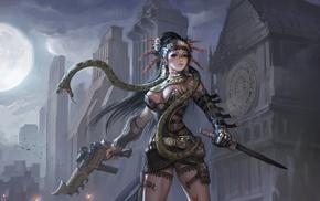 artwork, warrior, fantasy art