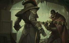 League of Legends, Twisted Fate, Graves