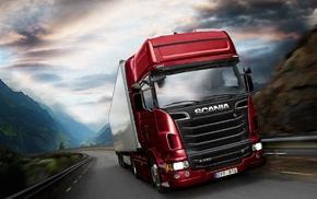 Scania, vehicle, Truck