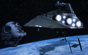 TIE Fighter, Death Star, Star Destroyer, Star Wars