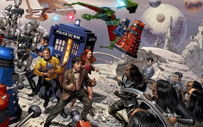 crossover, Doctor Who, Star Trek
