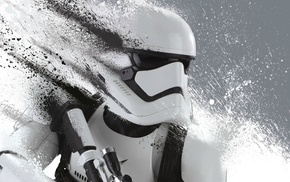 Star Wars, Storm Troopers, First Order, Star Wars The Force Awakens