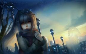 crying, anime, anime girls, Plastic Memories, Isla, original characters