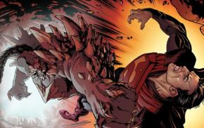 Injustice Gods among us, Superman, Doomsday, DC Comics