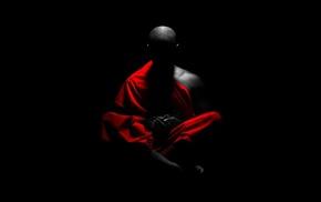 meditation, selective coloring